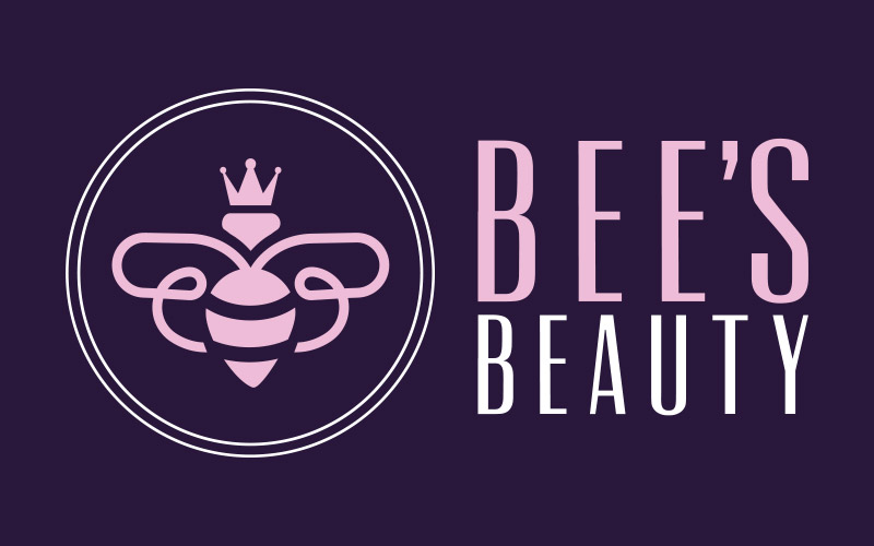 Bees Beauty Logo