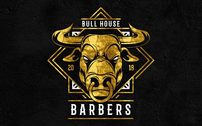 Bullhouse Barbers Logo