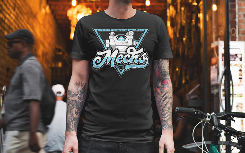 Gamelyn Games Mechs Shirt