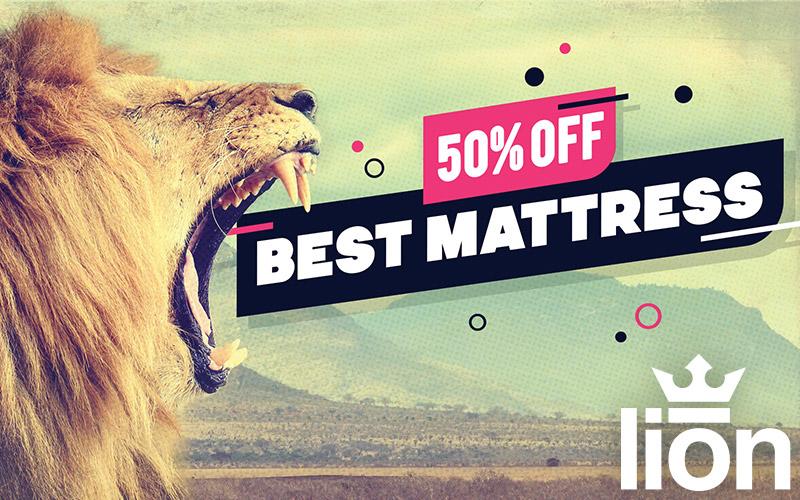 Lion Mattress Billboard
