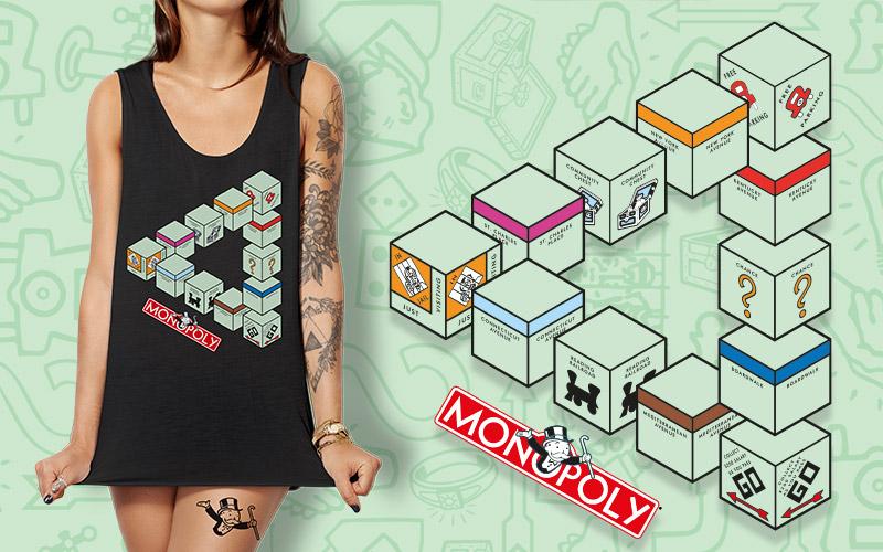Monopoly Merch Design