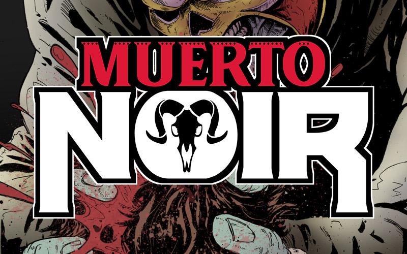 Muerto Noir Comic Book Logo Design