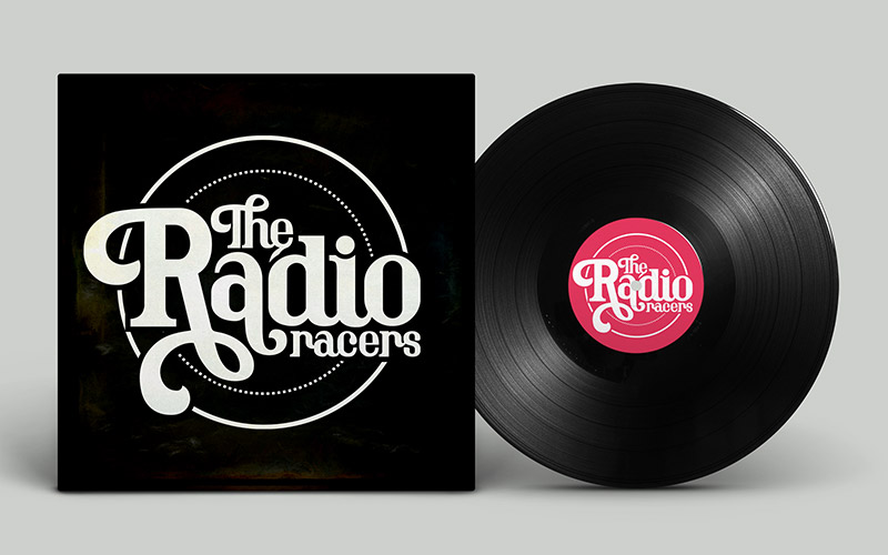 Radio Racers Vinyl Cover Design