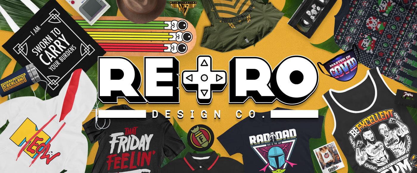 Retro Design Co Merch & Shirt Design