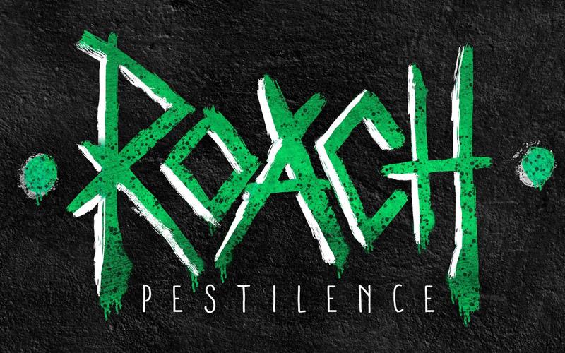 Roach Comic Book Logo