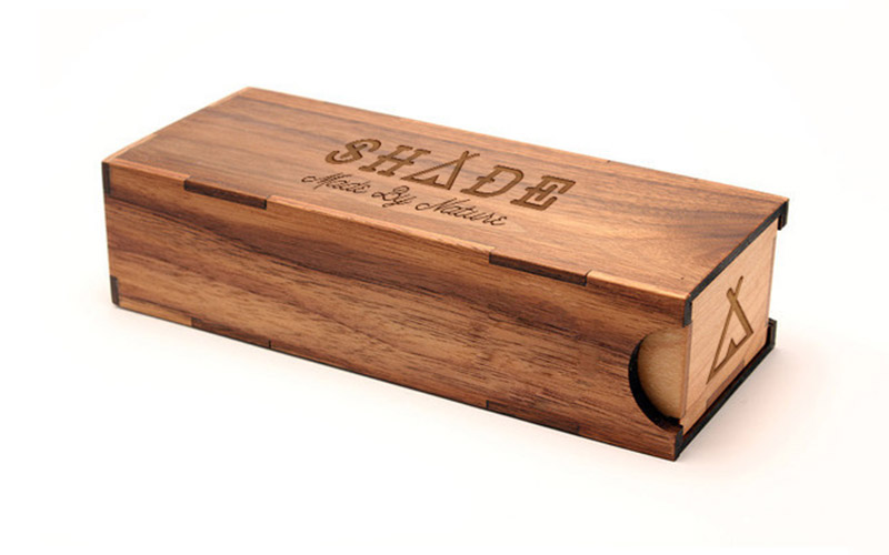 Shade Wooden Packaging