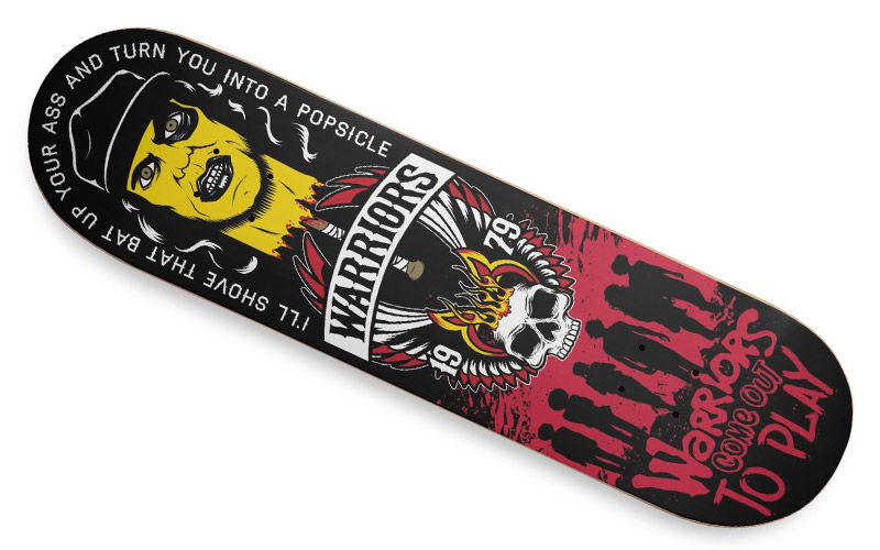 Warriors Skateboard