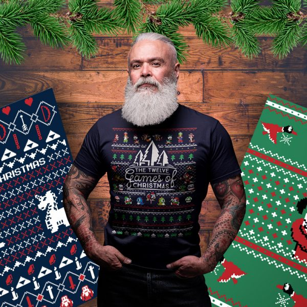 12 games of christmas sweater