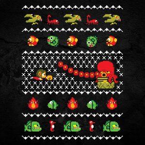 Alex Kidd Christmas Sweater
