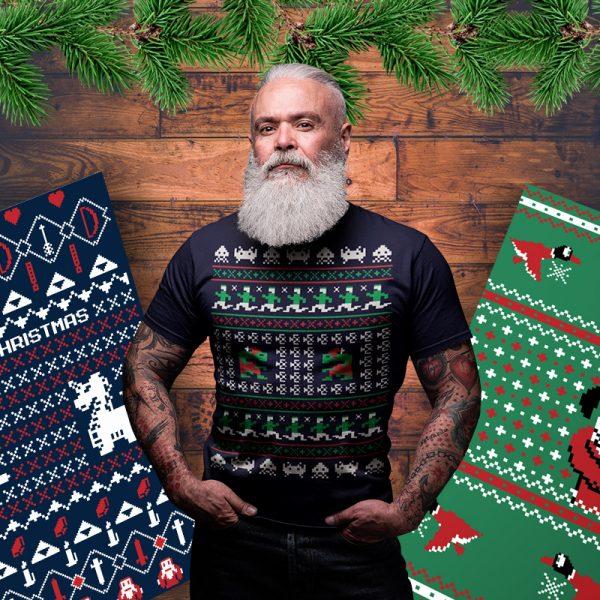 atari christmas sweater