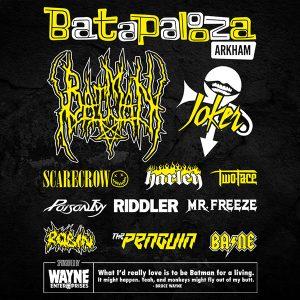 Batman Festival Tee Full Back