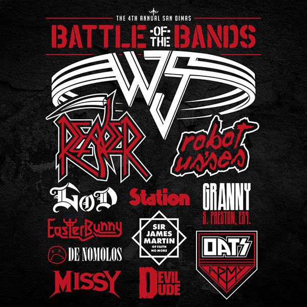 Battle of the Bans Wyld Stallyns Festival T-Shirt