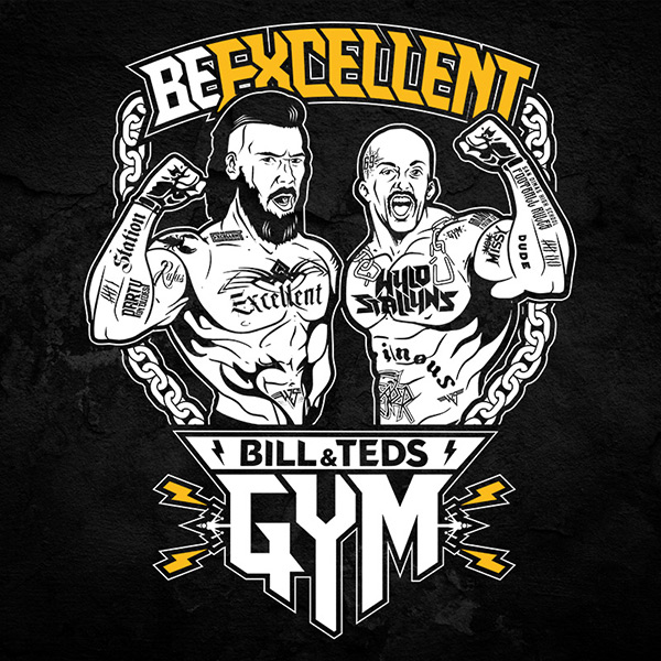Bill and Ted Gym T-Shirt