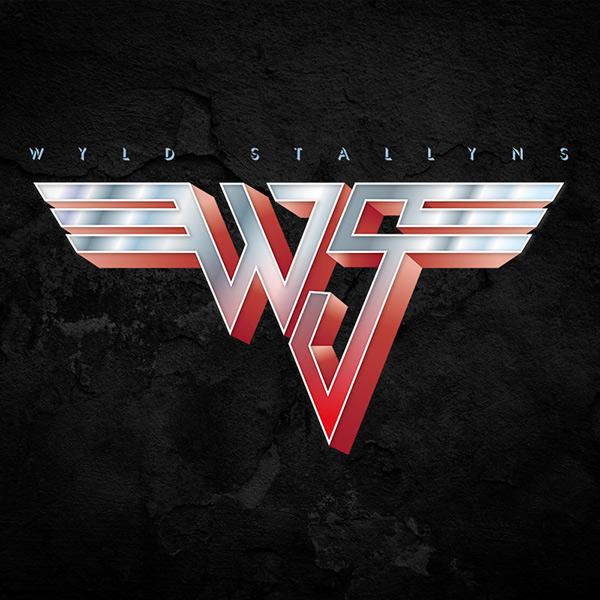 Bill and Ted Van Halen Tee