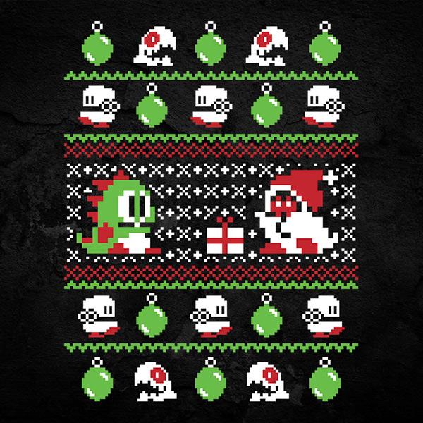 Bubble Bobble Christmas Sweater