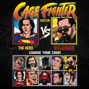 Cage Fighter Turbo T-Shirt
