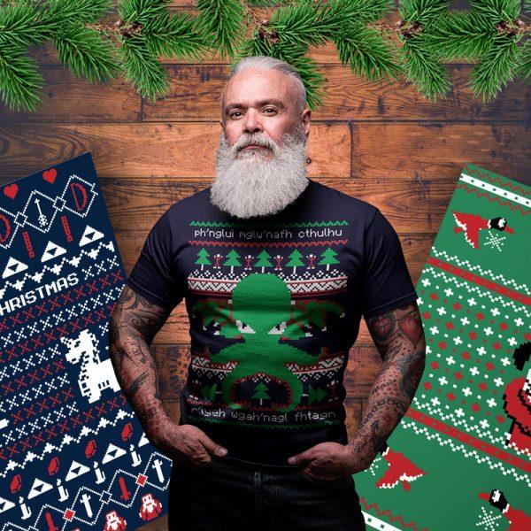 cthulhu christmas sweater