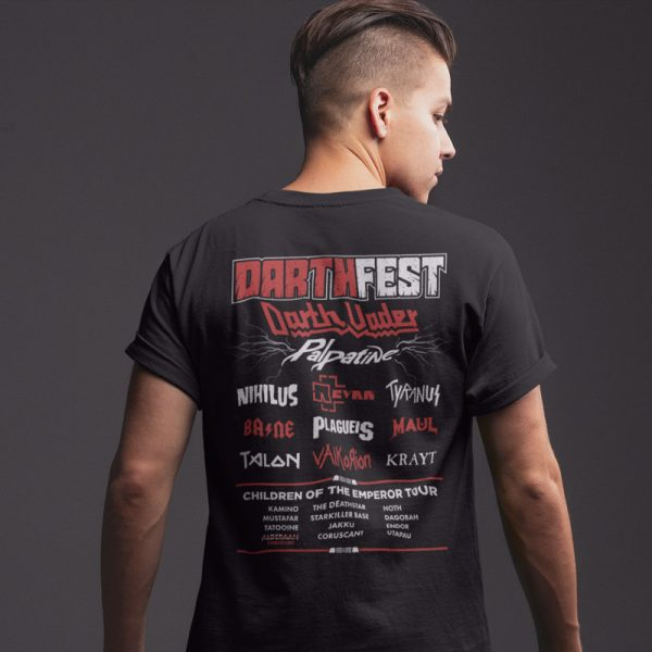 Darth STAR WARS Festival T-Shirt