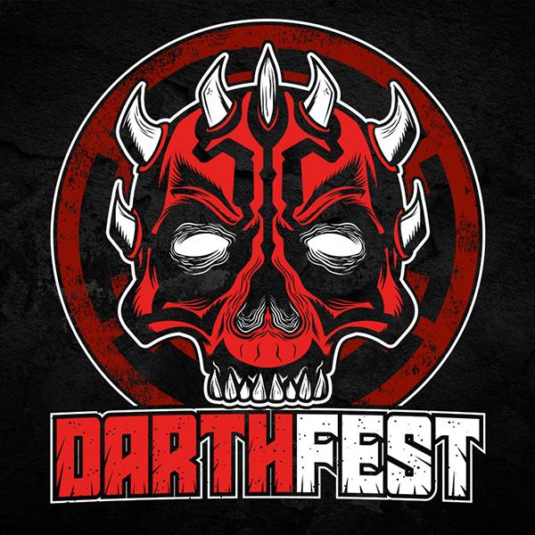 Darth Star Wars Festival Tee Full Front