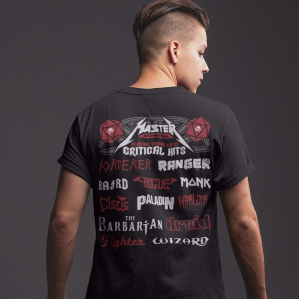 Dungeons and Dragons DnD Festival T-Shirt