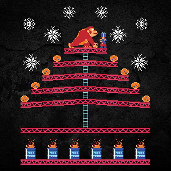 Donkey Kong Christmas Sweater