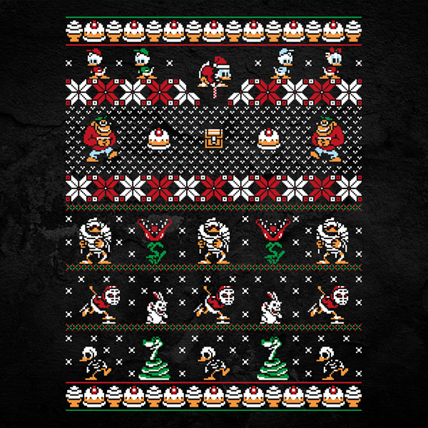 Ducktails Christmas Sweater