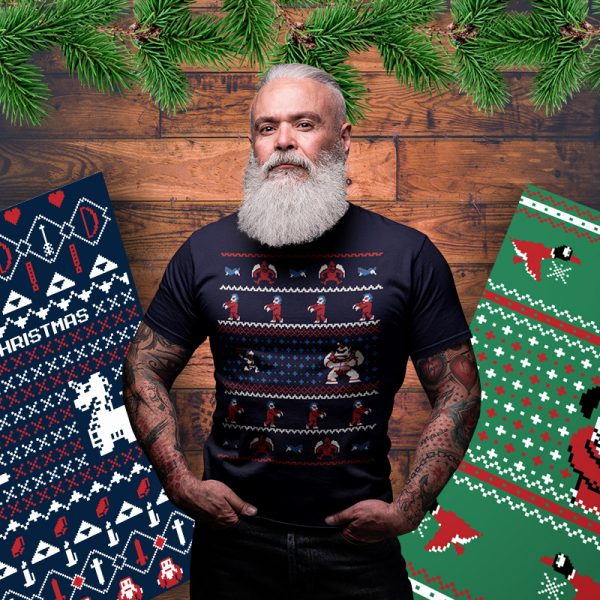 ghosts n goblins christmas sweater