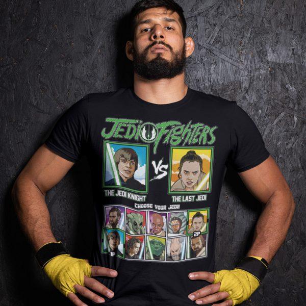 jedi fighter jedi knight last jedi fighting series t-shirt