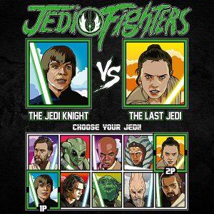 Jedi Fighters Luke Skywalker T-Shirt