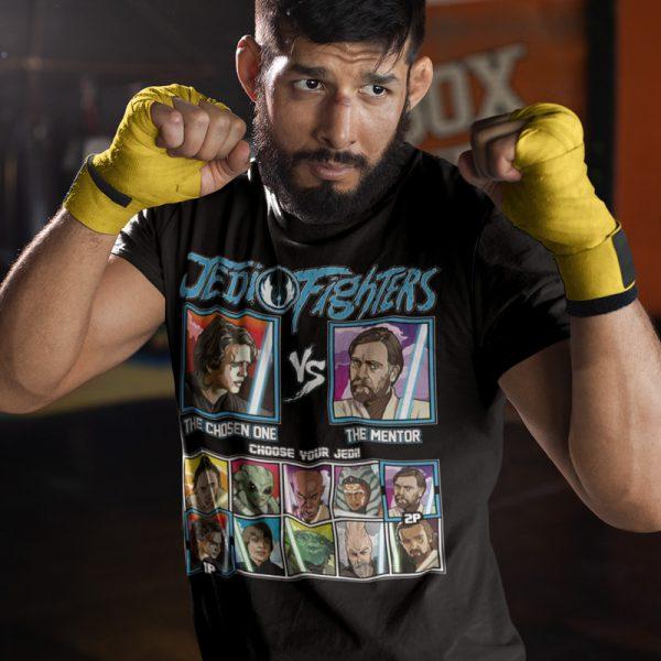 chosen one mentor STAR WARS fighter tee