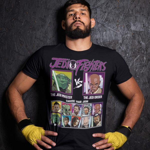 jedi fighters jedi master jedi order fighting series t-shirt