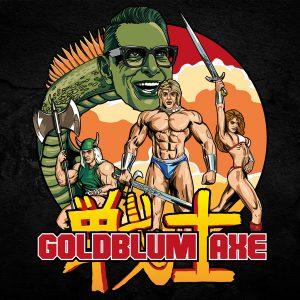 Jeff Goldblum Axe Art