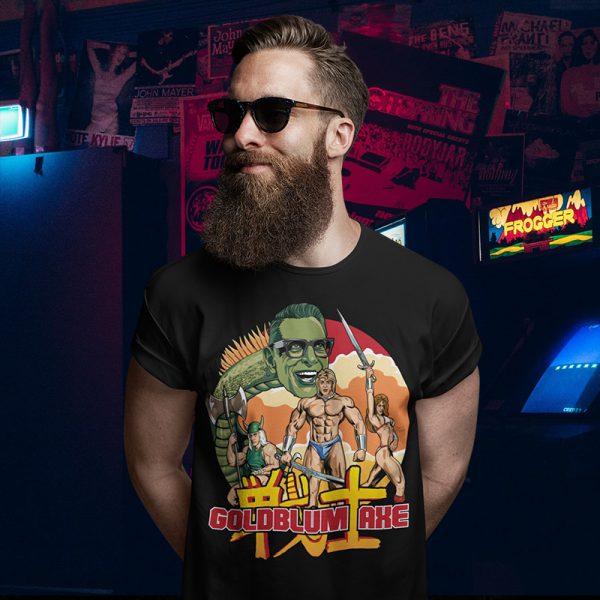 Jeff Goldblum Axe T-Shirt