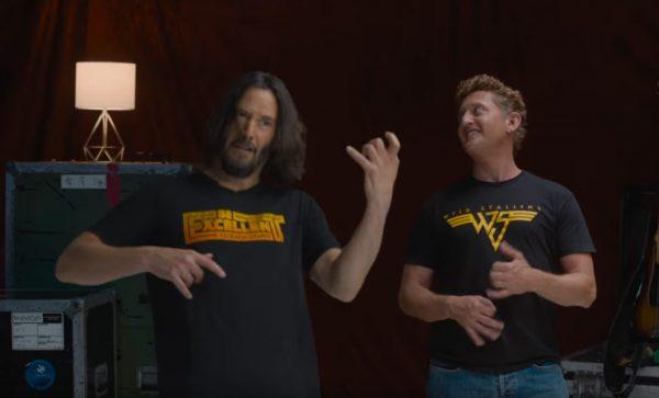 Keanu Reeves Alex Winter Weezer Shirts
