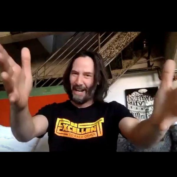 Keanu Reeves Be Excellent T-Shirt