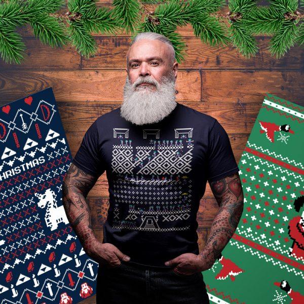 lemmings christmas sweater