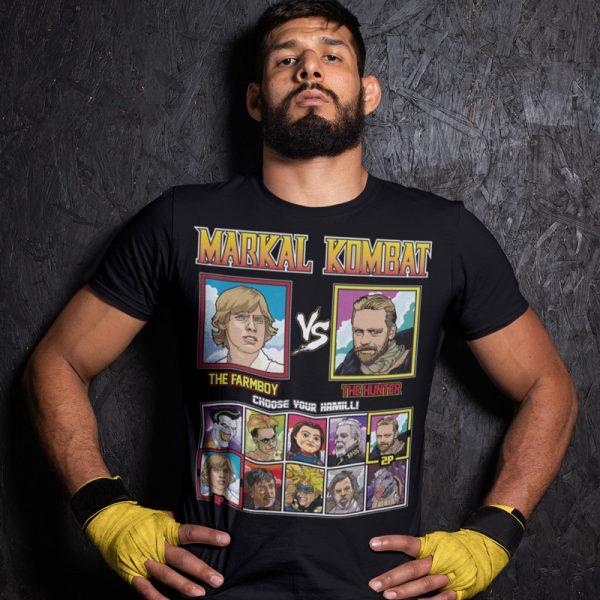 markal kombat farmboy hunter fighting series t-shirt