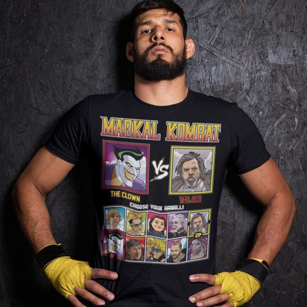 markal kombat clown jedi fighting series t-shirt