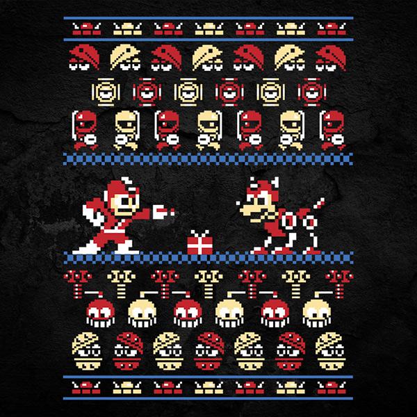 Megaman Christmas Sweater
