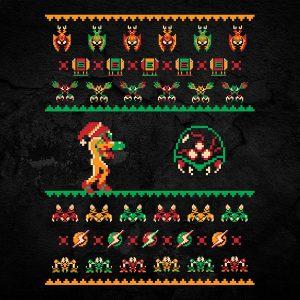 Metroid Christmas Sweater
