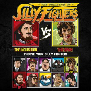 Monty Python Silly Fighter Shirt