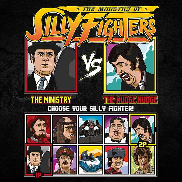 Monty Python Silly Fighter Tee Shirt