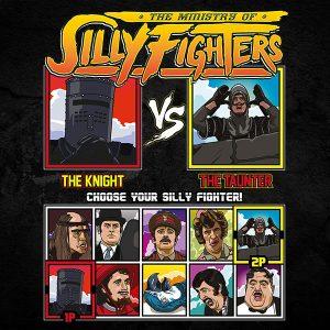 Monty Python Silly Fighter T-Shirt