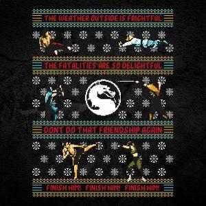 Mortal Kombat Christmas Sweater