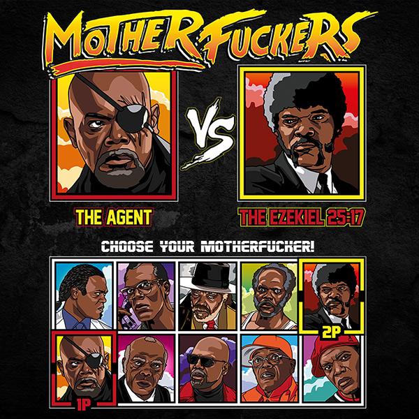 Motherfuckers Samuel L Jackson tshirt