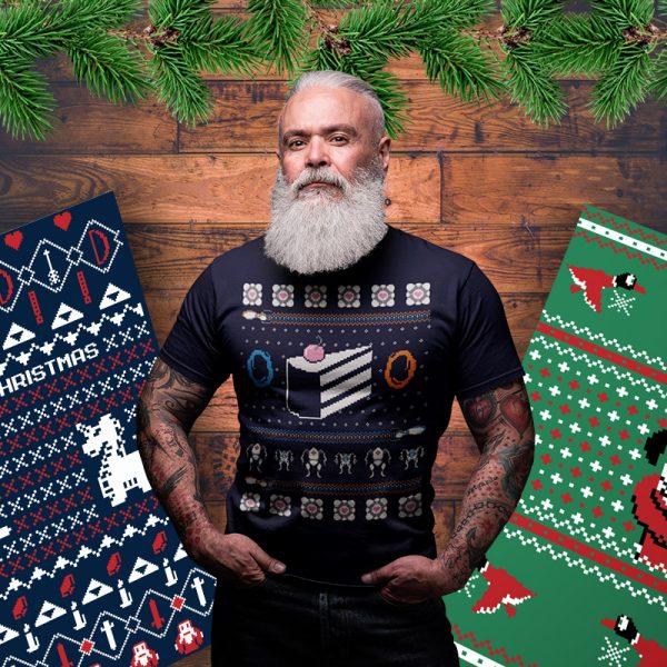 portal christmas sweater