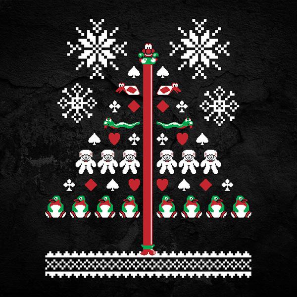 Robocod Christmas Sweater