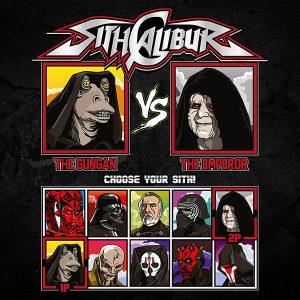 Sith Calibur Fighting T-Shirt