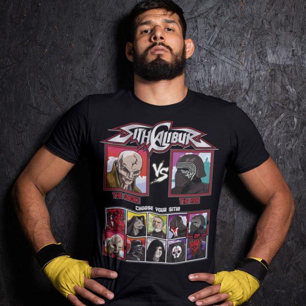 sith calibur the snoke the ren fighting series t-shirt
