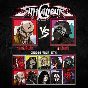 Sith Calibur Fighting Tee Shirt